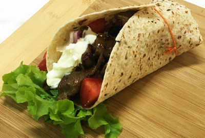 Earlee Products Food Innovations Beef Wrap
