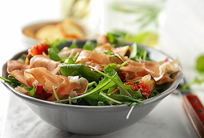 Earlee Products Product Innovations Salad with Bacon Chips