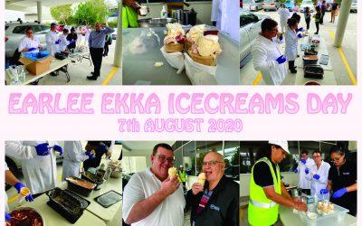 Earlee Ekka Icecreams day
